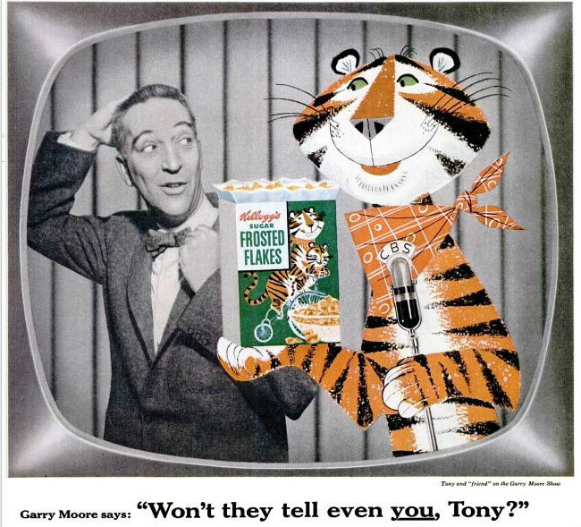 Garry Moore Tony the Tiger 1955