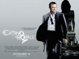 Casino Royale 2 - UK cinema poster