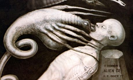 H.-R.-Giger-Alien-Artwork