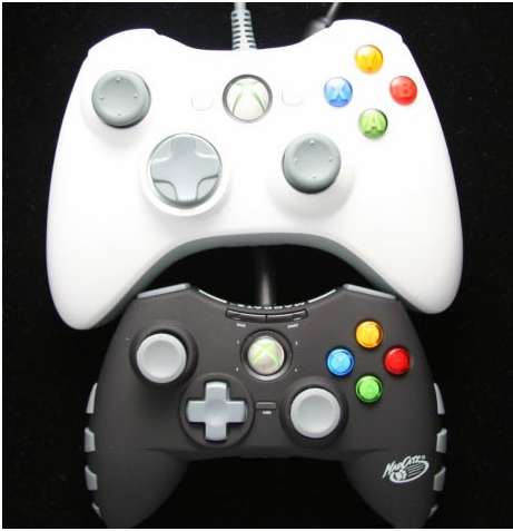 Microcon size comparison with standard controller