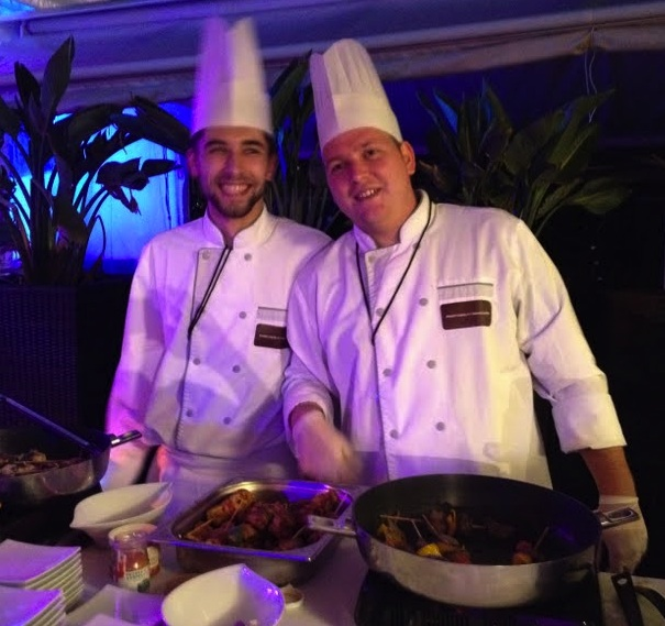 carlton hotel, catering, cannes