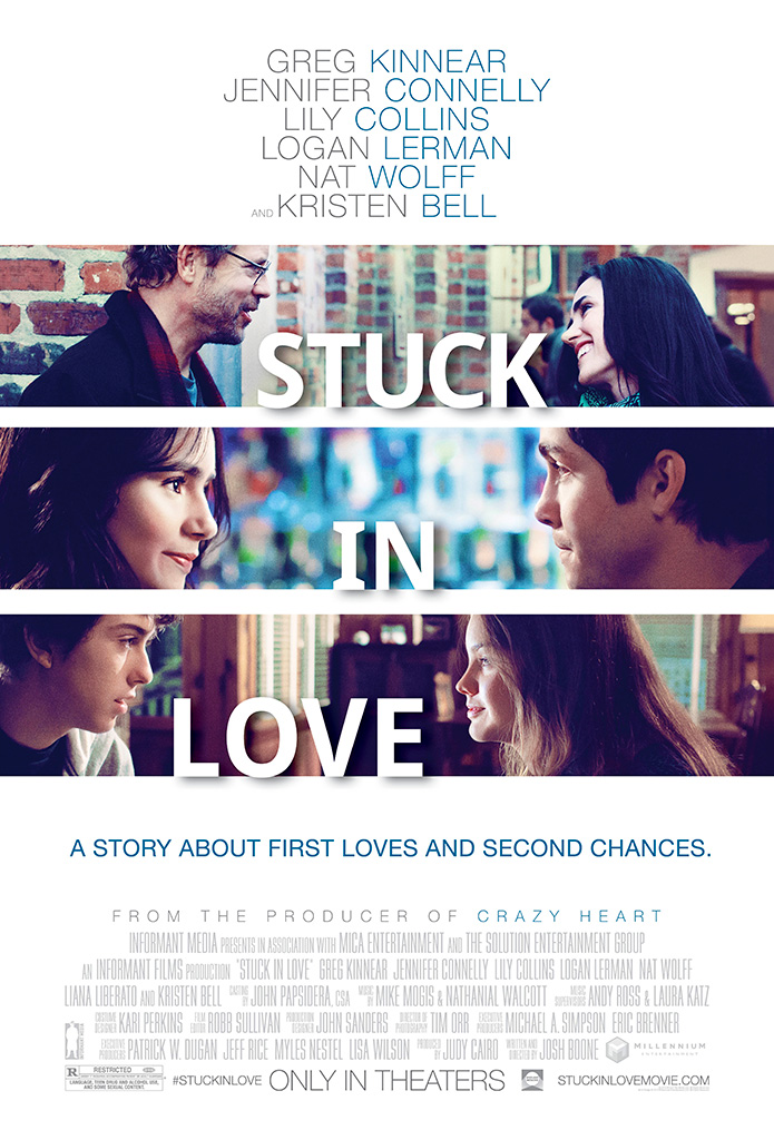 Stuck in love poster