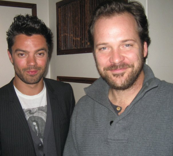 Dominic Cooper and Peter Sarsgaard