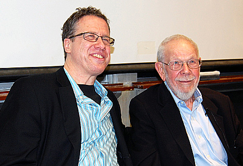 Danny Fingeroth and Al Jaffee