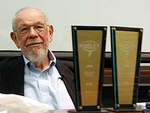 Al Jaffee and his 2009 Harvey Awards