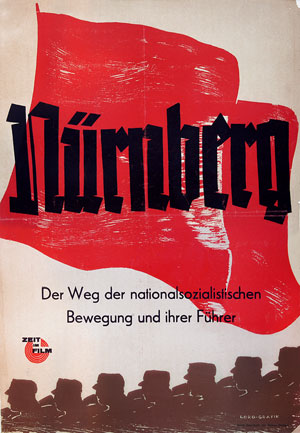 The poster from the original 1948 release of Nuremberg